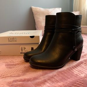 Croft and barrow booties size 8 worn once
